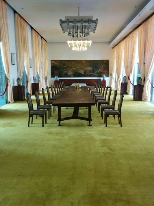 統一会堂 国内賓客応接室(宴会場)