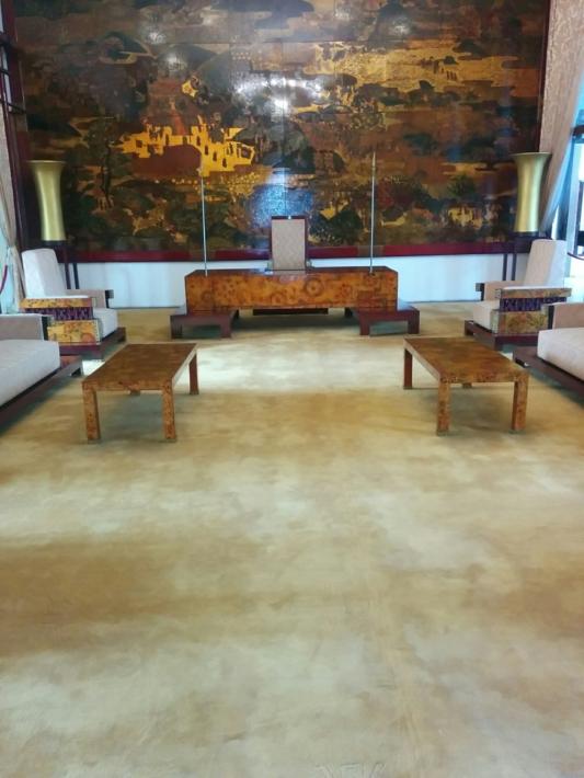 統一会堂 国書提出室