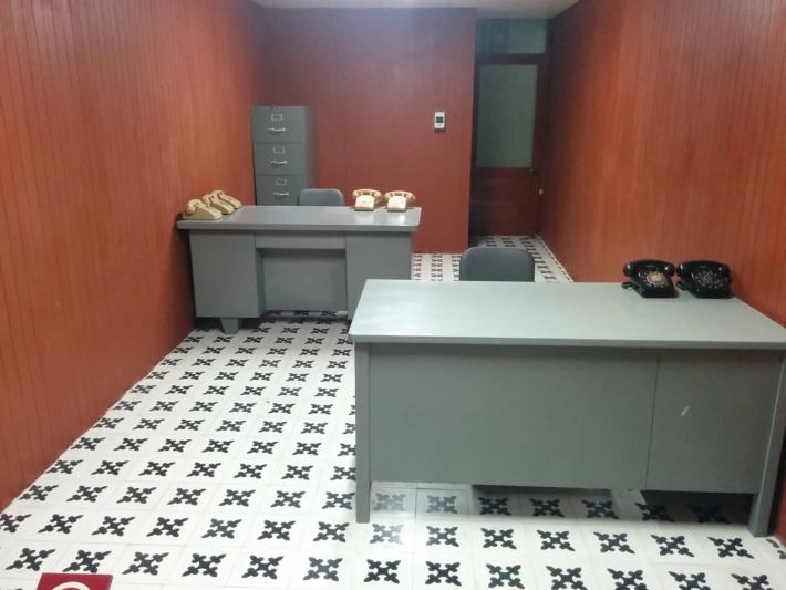 統一会堂 地下・記録室