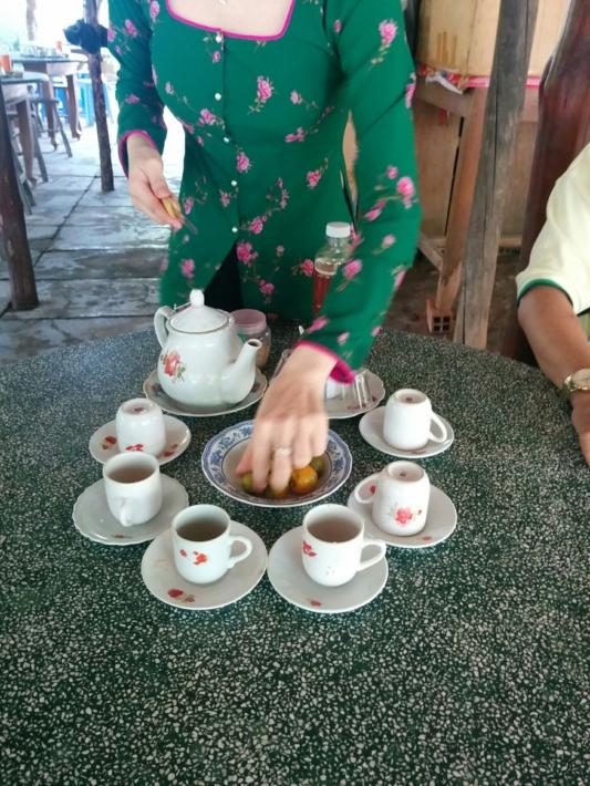タイソン島・お茶で休憩