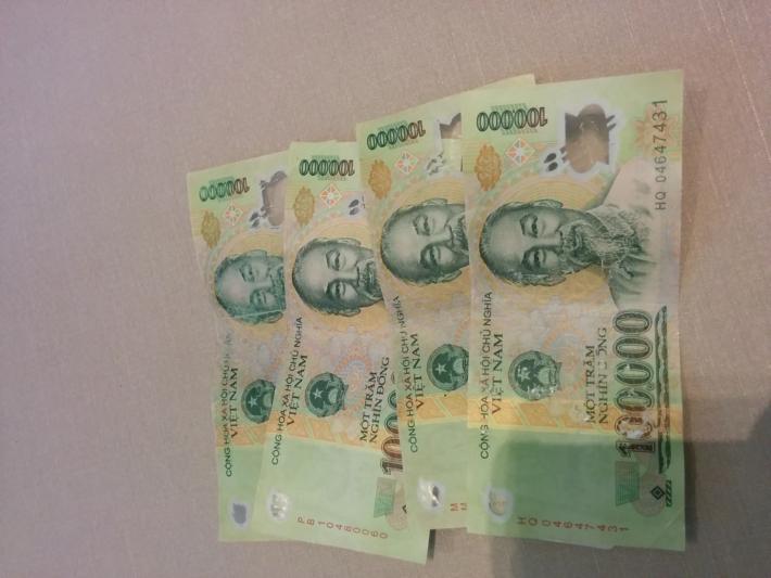 ベトナム10万ドン