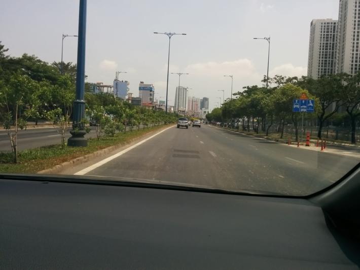 ブンソイ観光区へUber Taxiで向かう。