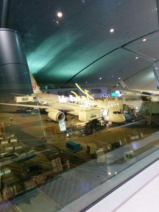 タンソンニャット国際空港・JAL70便