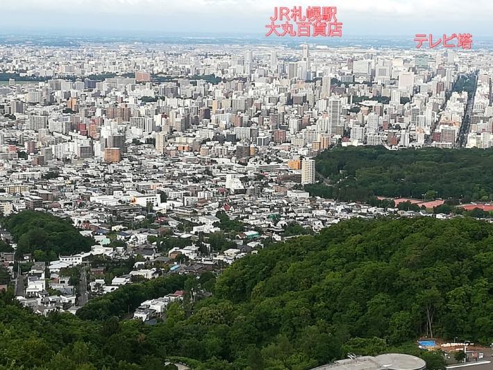 大倉山展望台からの眺め