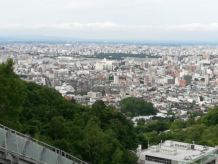 大倉山リフトからの眺め