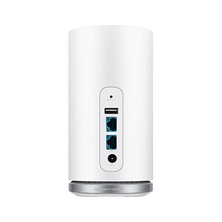 Speed Wi-Fi HOME L01 後面