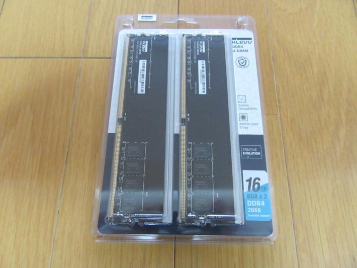SK hynix製 DDR4 2666 PC4-21300 8GB x 2枚 16GB