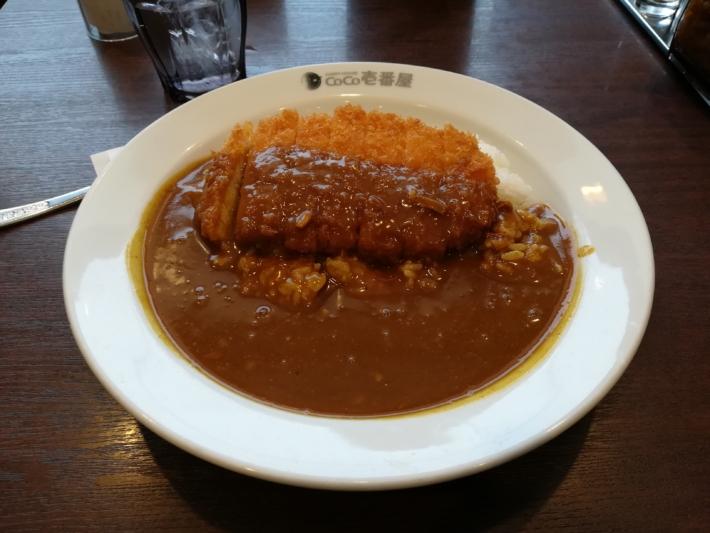 CoCo壱番屋 中央区石山通店 ロースカツカレー