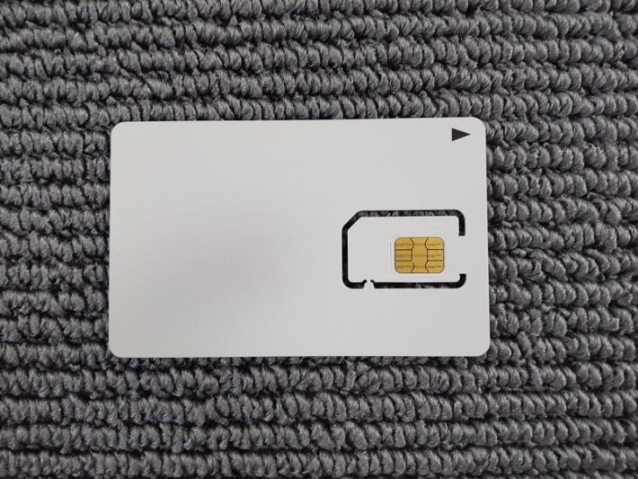 SoftBank SIMカード 表面