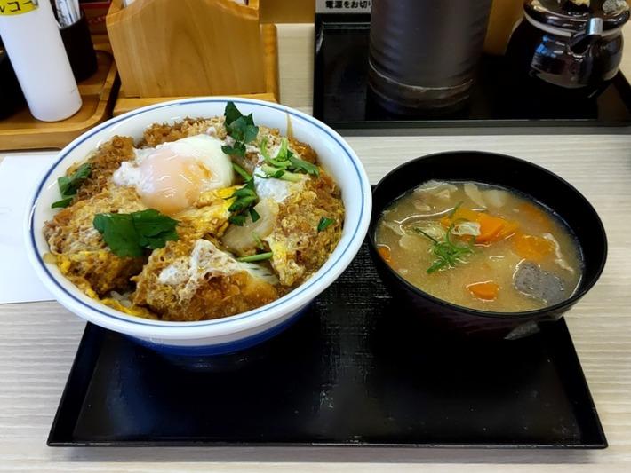 特カツ丼 とん汁(小)